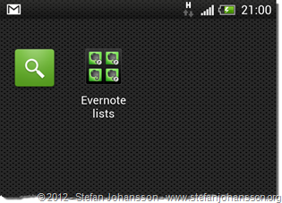 evernotesearchandshortcuts